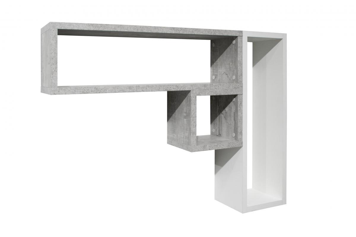 Würfelregal 26x26x22 cm quadratisch Wandregal weiss Regal