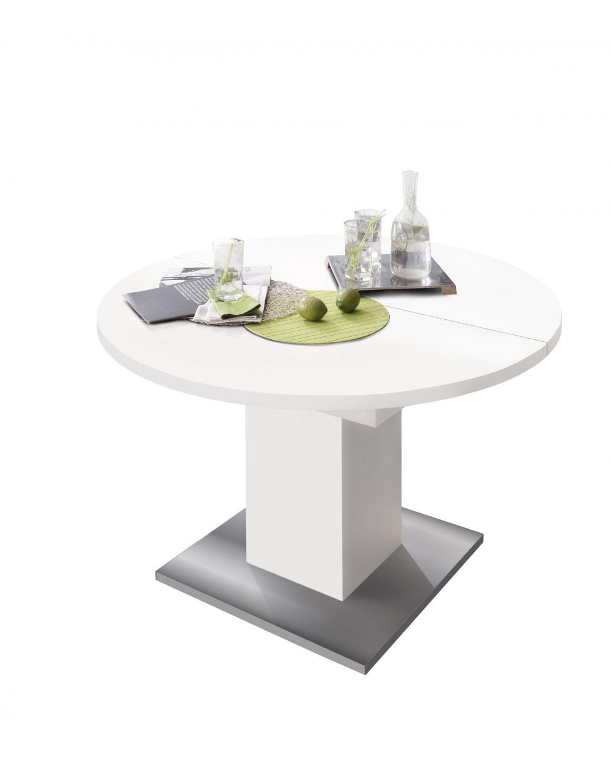 Runder Tisch Küchentisch Rund Esstisch Ausziehtisch erweiterbar Esstisch Neu
