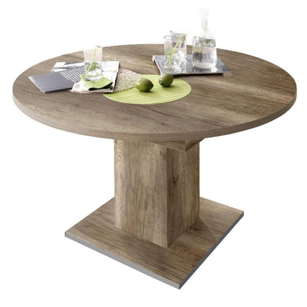 esstisch rund runder tisch designtisch ausziehtisch. Black Bedroom Furniture Sets. Home Design Ideas