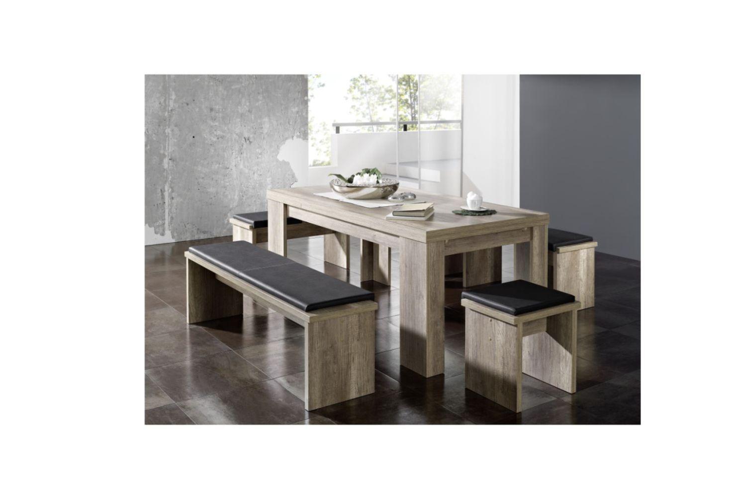 esstisch k chentisch speisetisch ausziehtisch erweiterbar. Black Bedroom Furniture Sets. Home Design Ideas