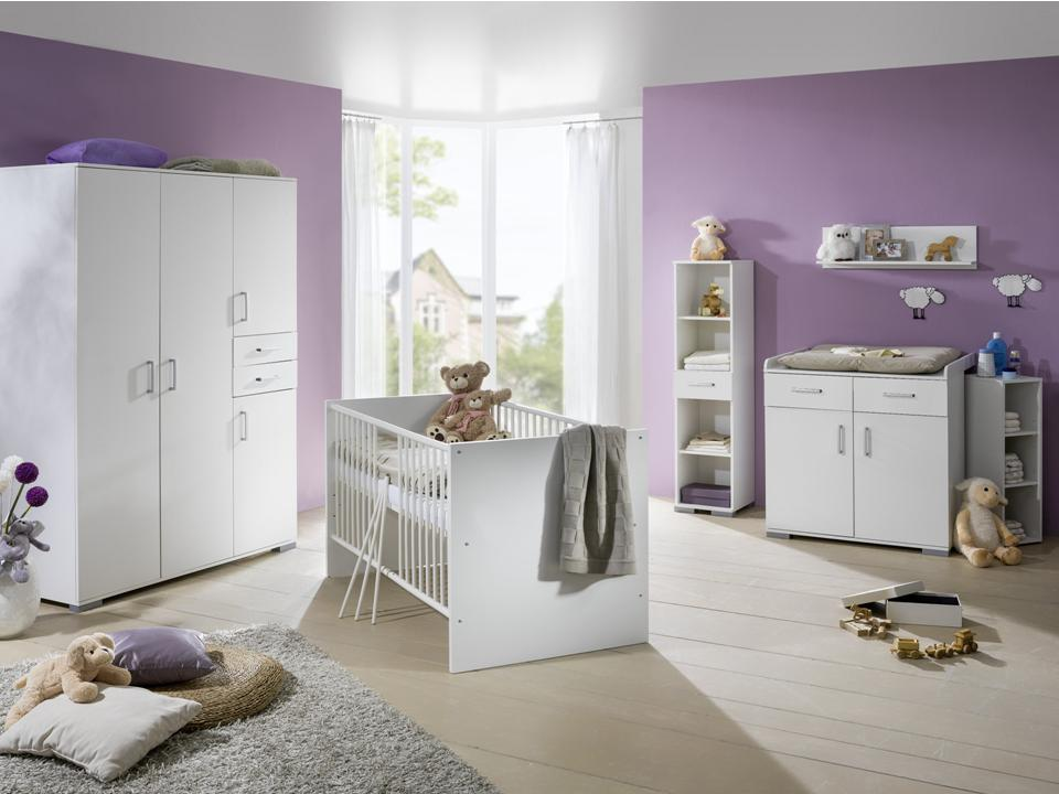 babybett babyzimmer komplett kinderwagen wickelkommode kinderzimmer baby m bel ebay. Black Bedroom Furniture Sets. Home Design Ideas