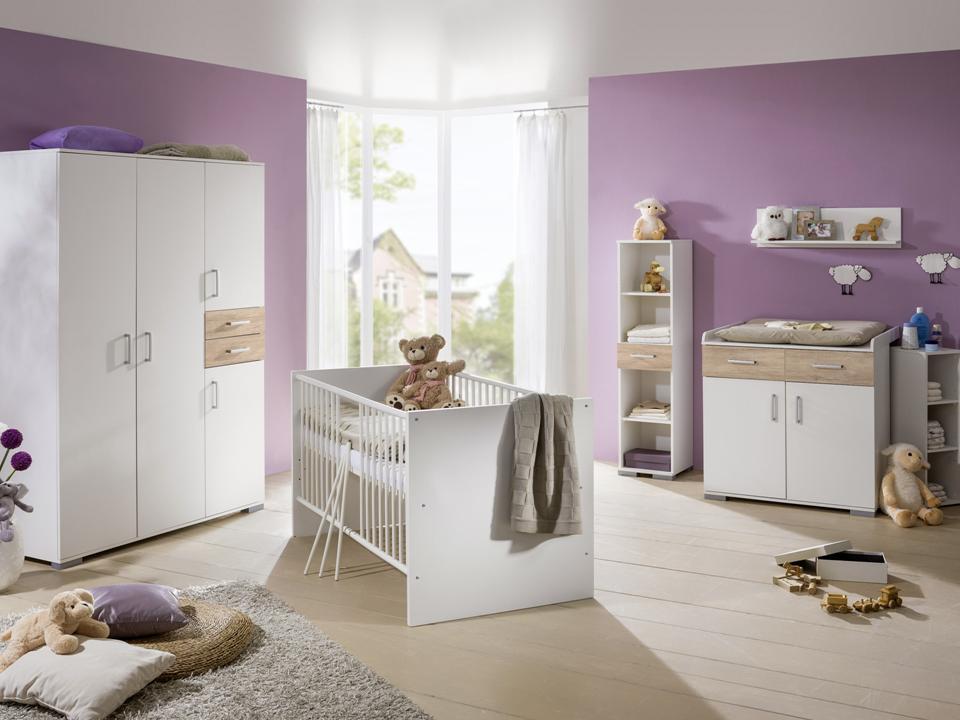 Babybett babyzimmer komplett kinderwagen wickelkommode kinderzimmer baby m bel ebay - Gunstige kinderzimmer komplett ...
