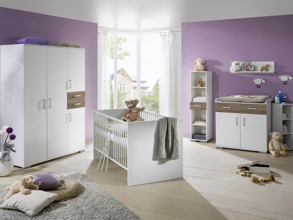 babybett babyzimmer komplett kinderwagen wickelkommode kinderzimmer baby m bel ebay. Black Bedroom Furniture Sets. Home Design Ideas